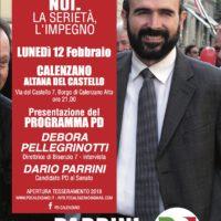12 Febbraio: a Calenzano