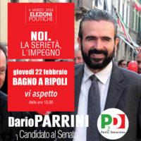 22 febbraio: a Bagno a Ripoli con Luca Lotti