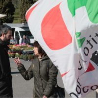 15 febbraio: Rignano sull'Arno, al mercato