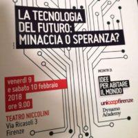 9 febbraio: Firenze, al Convegno di Legacoop al Teatro Niccolini