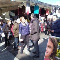 14 Febbraio: Empolese Valdelsa,ai mercati di Fucecchio, Limite sull'Arno e al gazebo di Vinci