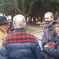 6 febbraio: Montespertoli, presenza al mercato