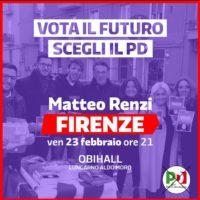 23 febbraio con Matteo Renzi all'Obihall