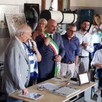 Piero Angela all'osservatorio di San Vito a Montelupo