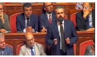 """Il mio """"duello"""" in Senato con Salvini"""
