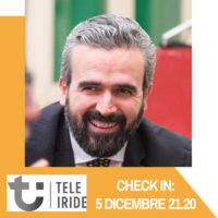 La mia partecipazione a Check in su Tele Iride del 5/12/2018
