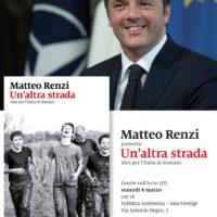 8 marzo: Limite sull'Arno con Matteo Renzi