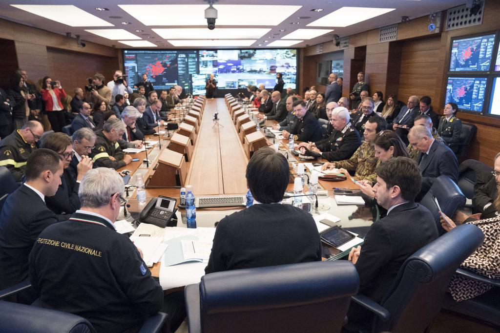 Riunione task force Covid19