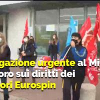 INTERROGAZIONE AL MINISTRO DEL LAVORO SUI DIRITTI DEI LAVORATORI DEL GRUPPO EUROSPIN