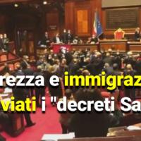 """Sicurezza e immigrazione: archiviati i """"decreti Salvini"""""""