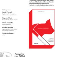 """Venerdì 29 gennaio ore 18 presentazione del libro """"Eravamo comunisti"""", di Umberto Ranieri"""