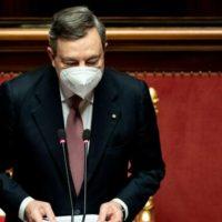 Il discorso integrale del Presidente del Consiglio Mario Draghi al Senato