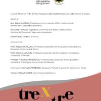 """Il 19 aprile l'evento online """"tre x tre: égalité, minorités linguistiques, patrimoine"""""""