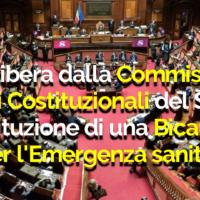 VIA LIBERA ALL'ISTITUZIONE DI UNA COMMISSIONE BICAMERALE PER L'EMERGENZA SANITARIA