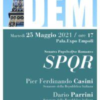 SPQR, con il Senatore Pier Ferdinando Casini al DEM Festival a Empoli