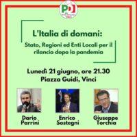 L'ITALIA DI DOMANI. STATO, REGIONI ED ENTI LOCALI PER IL RILANCIO DOPO LA PANDEMIA